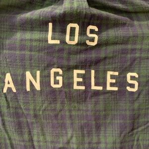 Brandy Melville Los Angeles Flannel
